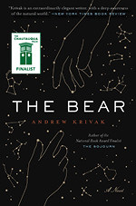 The Bear by Andrew Krivak book cover